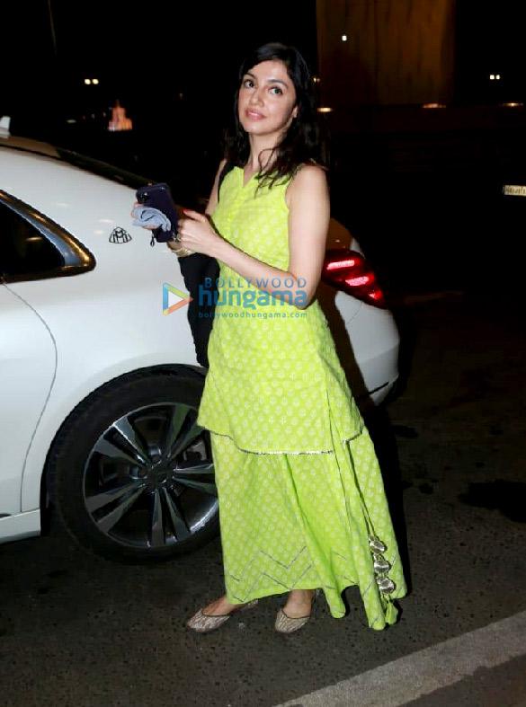 Photos: Divya Khosla Kumar, Karishma Tanna and Asim Riaz snapped at the airport
