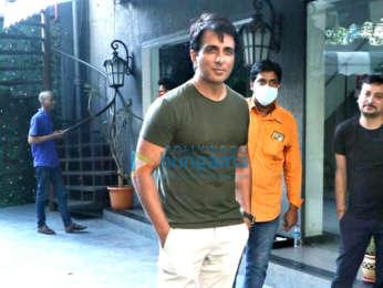 Photos: Sonu Sood snapped in Juhu