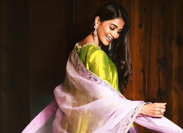 Pooja Hedge mesmerizes in a stunning Manish Malhotra outfit for Diwali