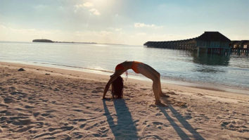 Rakul Preet Singh does workout in bikini by the sea while enjoying the sunset in Maldives