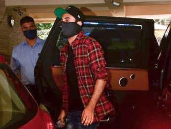 Ranbir Kapoor spotted at dubbing studio in Bandra