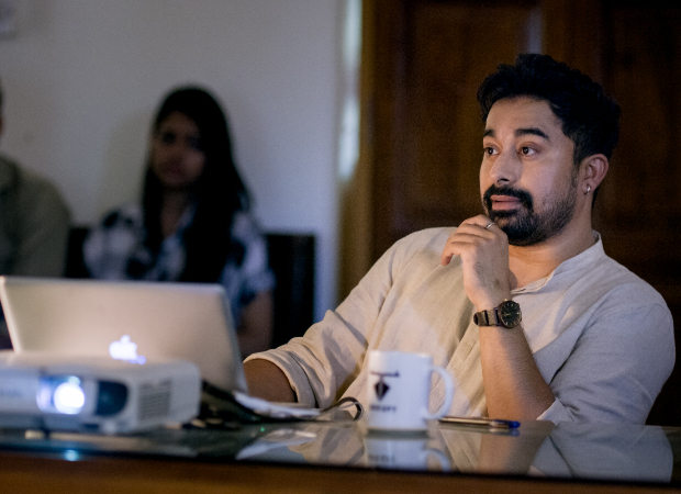 Rannvijay Singha dons professor's hat in the upcoming Netflix series Mismatched