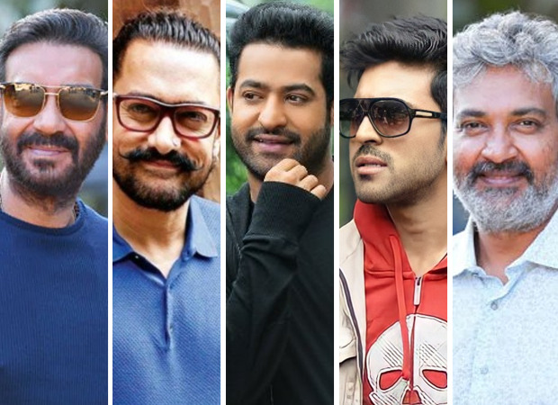 SCOOP: अजय देवगन के बाद, आमिर खान जूनियर एनटीआर और राम चरण की आरआरआर में एसएस राजामौली द्वारा निर्देशित: