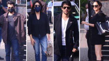 SPOTTED - Varun Dhawan, Anil Kapoor, Neetu Kapoor and Kiara Advani at Airport
