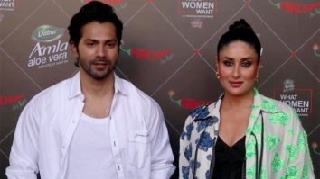 SPOTTED - Varun Dhawan and Kareena Kapoor at Mehboob studio