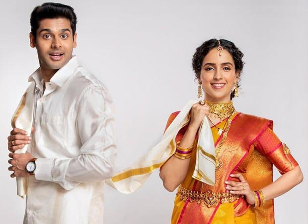Sanya Malhotra and Abhimanyu Dassani to star in upcoming Netflix film Meenakshi Sundareshwar, check out their first look