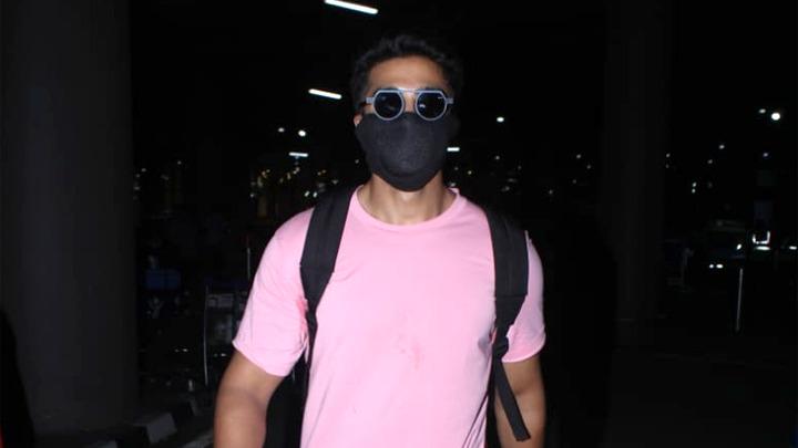 Saqib Salim spotted at Airport