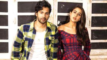 Sara Ali Khan and Varun Dhawan announce Coolie No.1 trailer release in a fun way