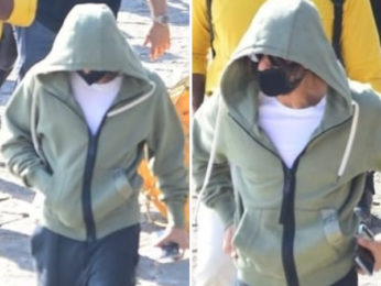 Shah Rukh Khan hides his look with a hoodie, sports a mask as he heads to Alibaug after Pathan shoot