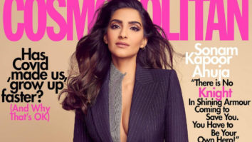Sonam Kapoor is all about power-dressing as she makes a sharp statement on the cover of Cosmopolitan