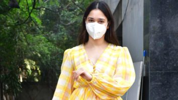 Tamanna Bhatia spotted post-lunch with friends at Bandra