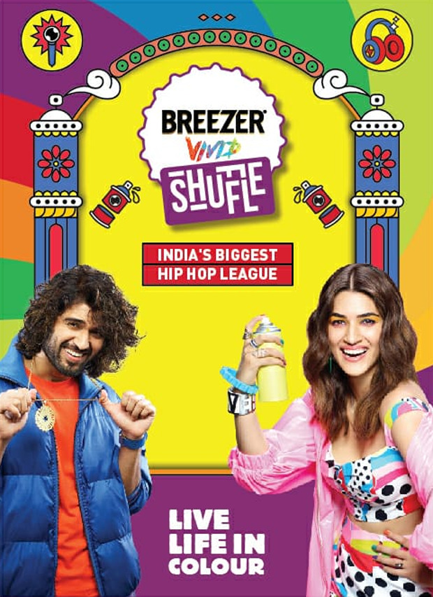 Vijay Deverakonda and Kriti Sanon turn up the heat with Breezer Vivid Shuffle season 4