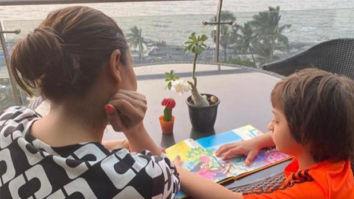 Gauri Khan shares picture of AbRam Khan reading Karan Johar's book 'The Big Thoughts of Little Luv'