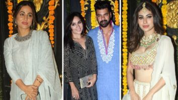 PICS: Hina Khan, Shabir Ahluwalia, Mouni Roy and others look stunning as they attend Ekta Kapoor's Diwali party