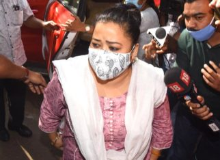 Bharti Singh and Haarsh Limbachiyaa arrive at NCB office for questioning hours after the raid