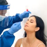 VIDEO: Katrina Kaif takes a COVID-19 test; gets one important instruction