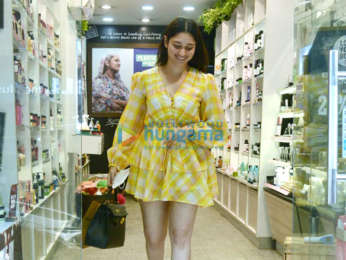 Photos: Tamannaah Bhatia snapped at The Body Shop in Juhu