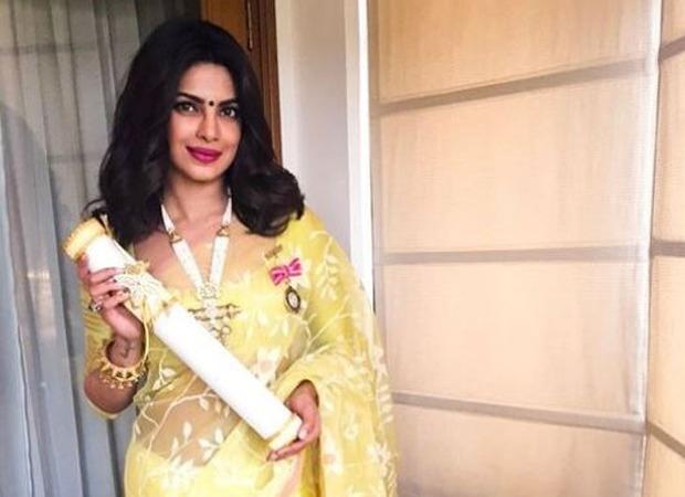 प्रियंका चोपड़ा उस दिन को याद करती हैं जब उन्हें पद्मश्री से सम्मानित किया गया था;  यह अपने परिवार को दिया गया आनंद और गर्व देखकर विशेष था