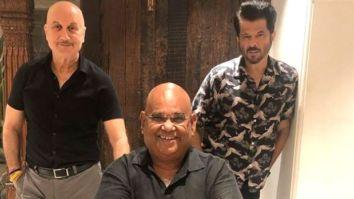 Anil Kapoor responds after Anupam Kher and Satish Kaushik gossip about him on The Kapil Sharma Show