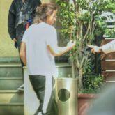 Shah Rukh Khan spotted outside Yash Raj Films Studios in Mumbai in his new look