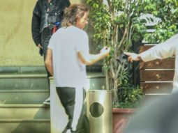 Shah Rukh Khan spotted outside Yash Raj Films Studios in Mumbai in his new look