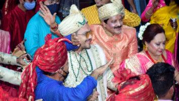 Aditya Narayan's wedding at ISKCON Juhu
