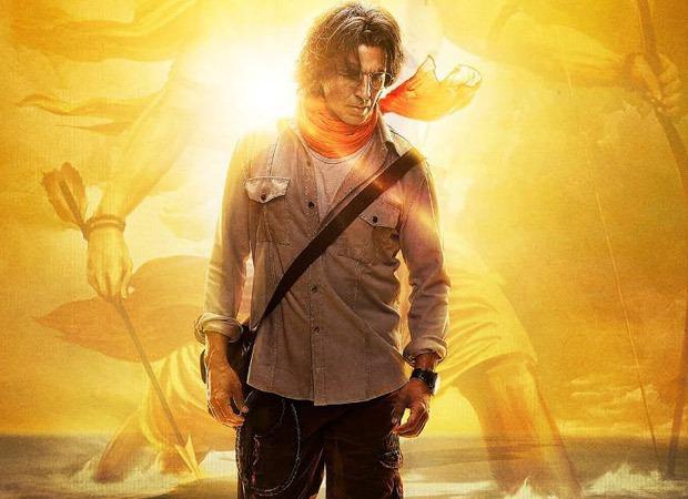 उत्तर प्रदेश के मुख्यमंत्री योगी आदित्यनाथ से मिलने के बाद राम सेतु के लिए अयोध्या में शूट करने के लिए अक्षय कुमार पहुंचे