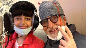 Amitabh Bachchan and Aaradhya Bachchan record music together, Abhishek-Aishwarya are proud parents