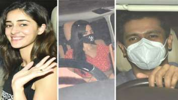 Ananya Panday, Katrina Kaif, Vicky Kaushal in party mode as they visit Karan Johar