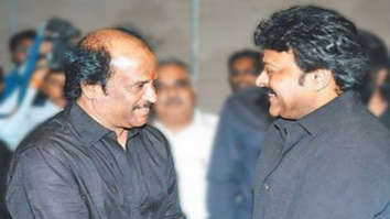 Chiranjeevi shares a picture with Rajinikanth on his 70th birthday, wishes success for taking political route