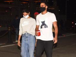 Deepika and Siddhant at Gateway