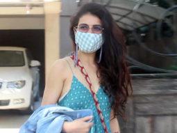 Fatima Sana Shaikh snapped around in Mumbai for meeting in Juhu