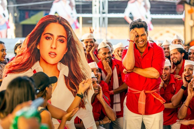 Makers of Coolie No. 1 recreate CSMT in Varun Dhawan and Sara Ali Khan's romantic-dance track 'Teri Bhabhi'