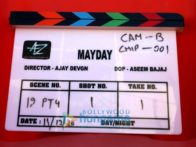 On The Sets Of The Movie Mayday
