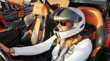 Nargis Fakhri enjoys buggy drive and hot-air balloon ride in Dubai, see photos