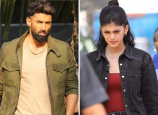 PICTURES Aditya Roy Kapoor and Sanjana Sanghi spotted shooting for OM – The Battle Within