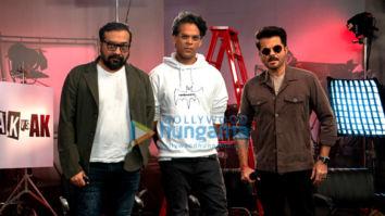 Photos: Anil Kapoor, Anurag Kashyap and Vikramaditya Motwane snapped at the trailer launch of Netflix's 'AK vs AK'