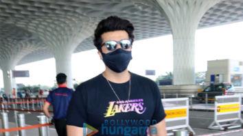 Photos: Arjun Kapoor, Mithun Chakraborty and Liza Malik snapped at the airport