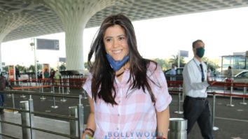 Photos: Ekta Kapoor, Javed Akhtar, Shabana Azmi and others snapped at the airport