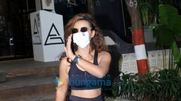 Photos: Patralekha spotted outside a gym in Pali Hill