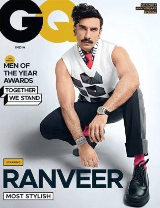 Ranveer Singh On The Covers Of GQ