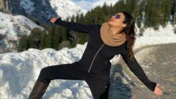 Raveena Tandon turns 'Switzerland Ka Shah Rukh Khan' in snow-clad Himachal Pradesh