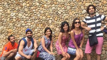 Sanaya Irani welcomes Iss Pyaar Ko Kya Naam Doon costar Barun Sobti on Instagram with a goofy group picture