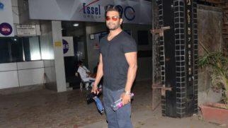 Sharad Kelkar spotted at Sound Ideaz Studio Andheri