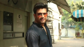 Sharad Kelkar spotted at Sound Ideaz studio in Andheri