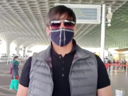 Vivek Oberoi spotted at the Airport