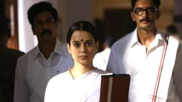 On J Jayalalithaa's death anniversary, makers of Kangana Ranaut starrer Thalaivi release new working stills from the film