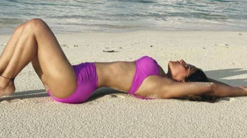Hina Khan flaunts her bikini body in latest picture from Maldives