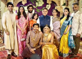 Inside pictures from NisChay wedding; Allu Arjun, Chiranjeevi, Pawan Kalyan, Ram Charan pose with the newly weds