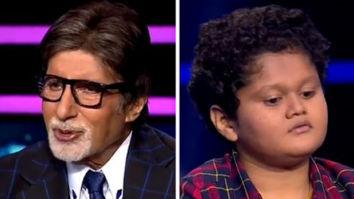 Kaun Banega Crorepati 12: Amitabh Bachchan takes advice from a 12-year-old contestant